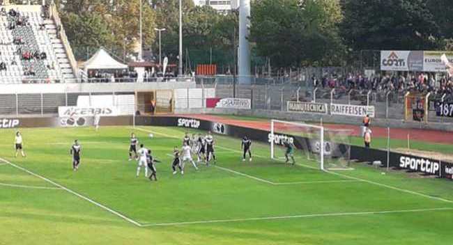 Calcio svizzero: parte bene il Lugano, male il Chiasso
