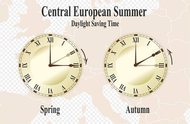 ora solare legale orologi lancette