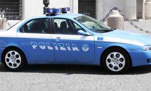 polizia auto elegante
