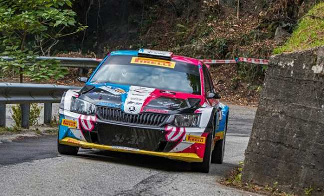rally rubinetto auto fronte