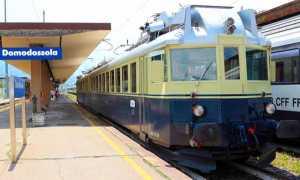 bls treno blu stazione domo