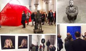 inaugurazione mostra kounellis 17 francesco