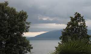 lago maltempo