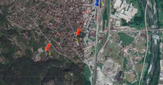 mappa AUTO ELETTRICHE COLONNINE RICARICA
