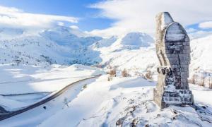 passo sempione aquila neve
