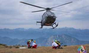 ricerche disperso elicottero