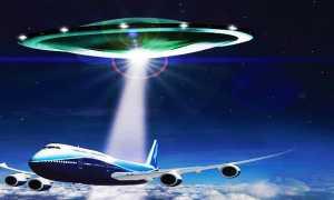 ufo e aereo