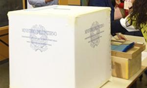 urna elezioni seggio voto